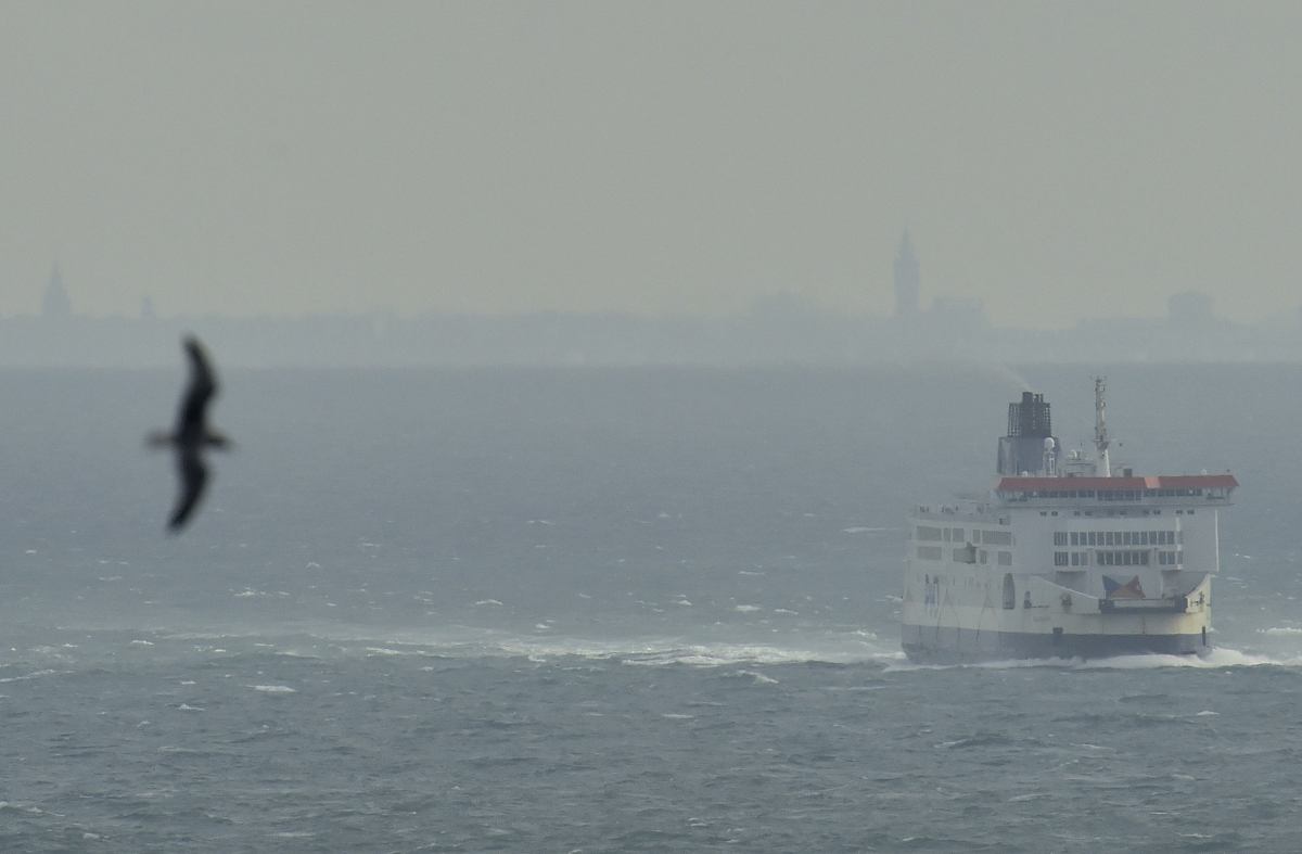 Ferry, English Channel