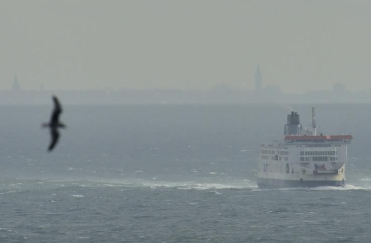 Ferry, English Channel