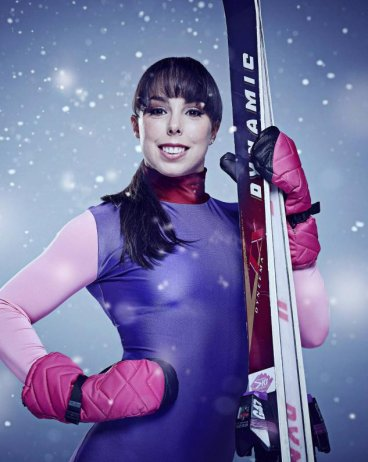 Beth Tweddle on The Jump