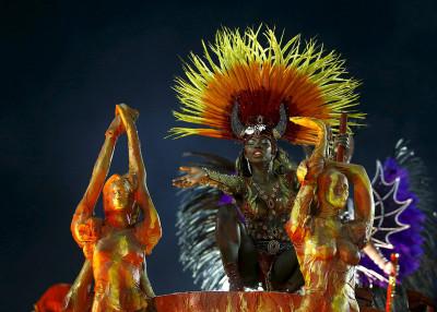 Rio Carnival 2016 Estacio de Sa