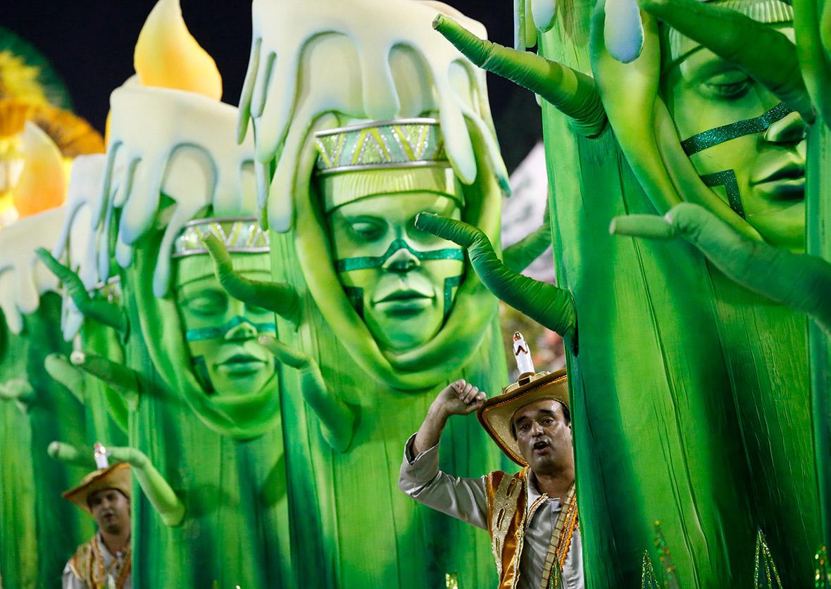 Rio Carnival 2016 Mocidade de Padre Miguel