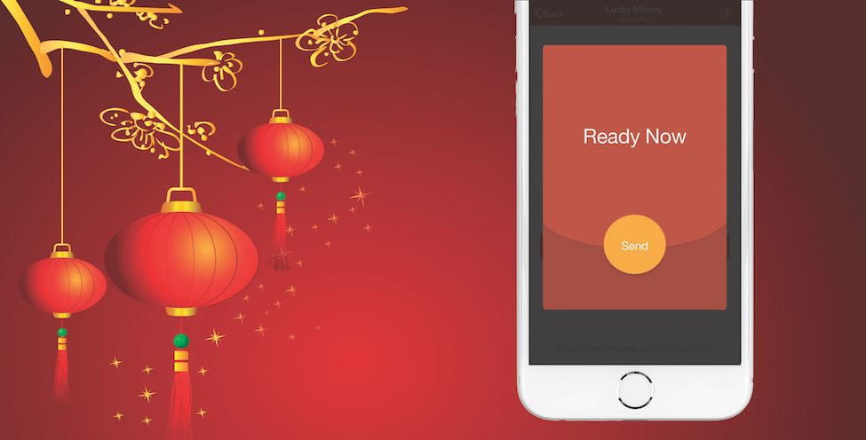WeChat Red Packet in Chinese New Year