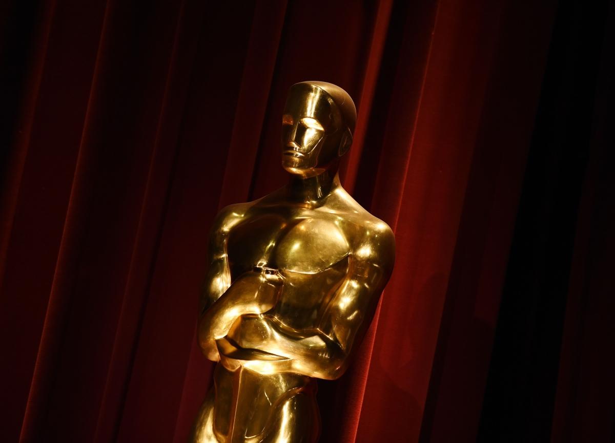 Oscars 2016 statuette