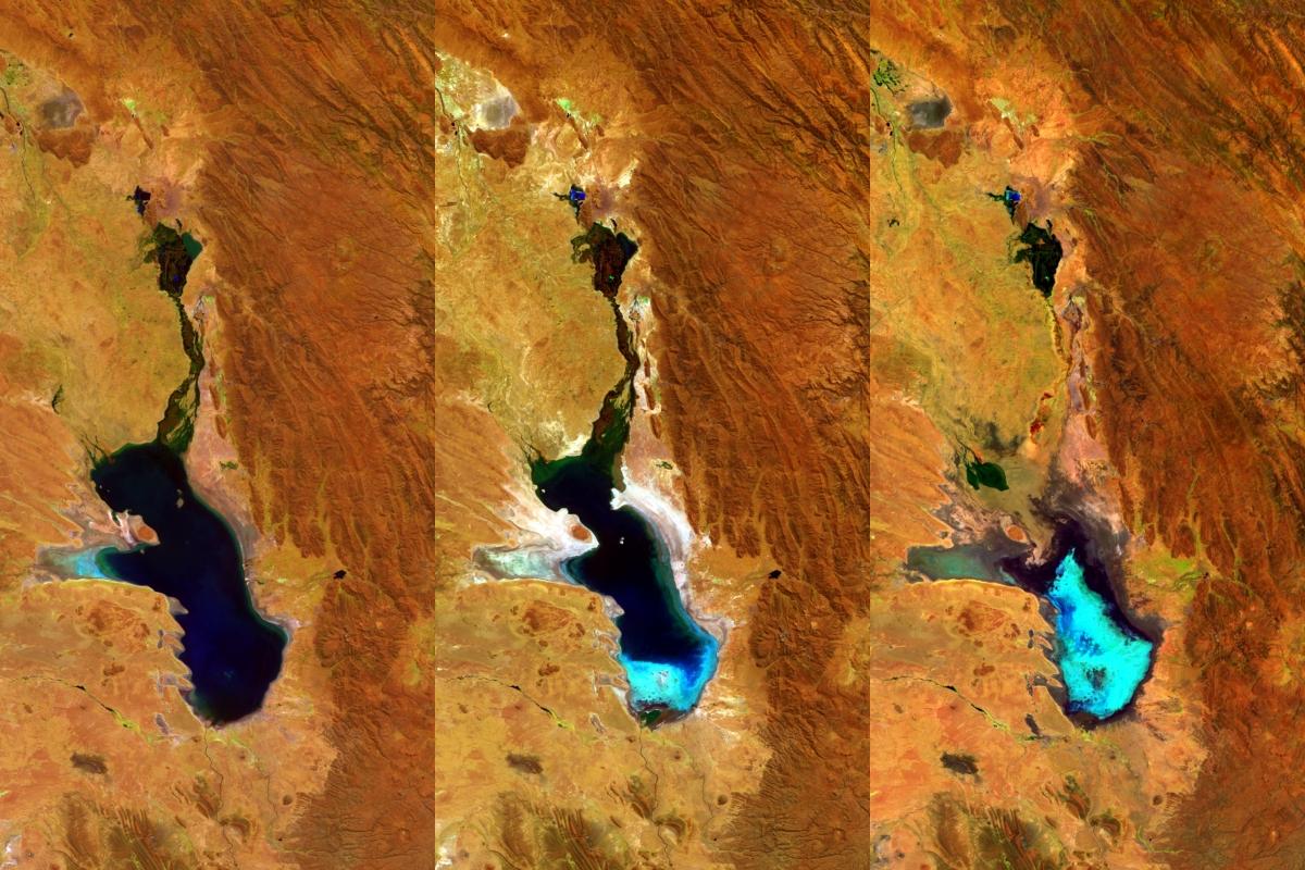 Bolivia Lake Poopó