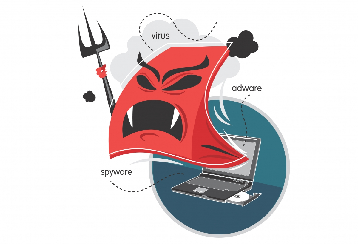 Angry malware, spyware and adware