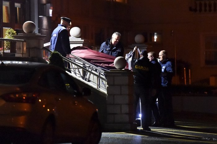 dublins gang wars brother  murdered real ira chief shot dead   drops  partner  child