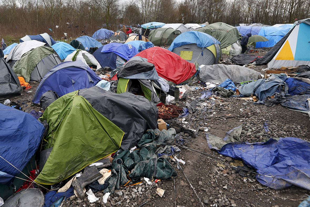 calais jungle camp