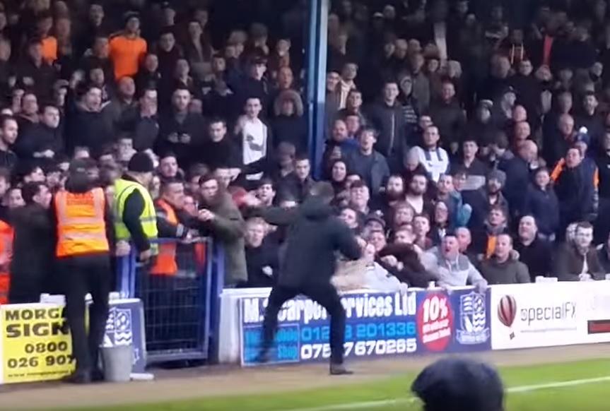 Southend fan violence