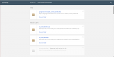 Chrome Material Design downloads