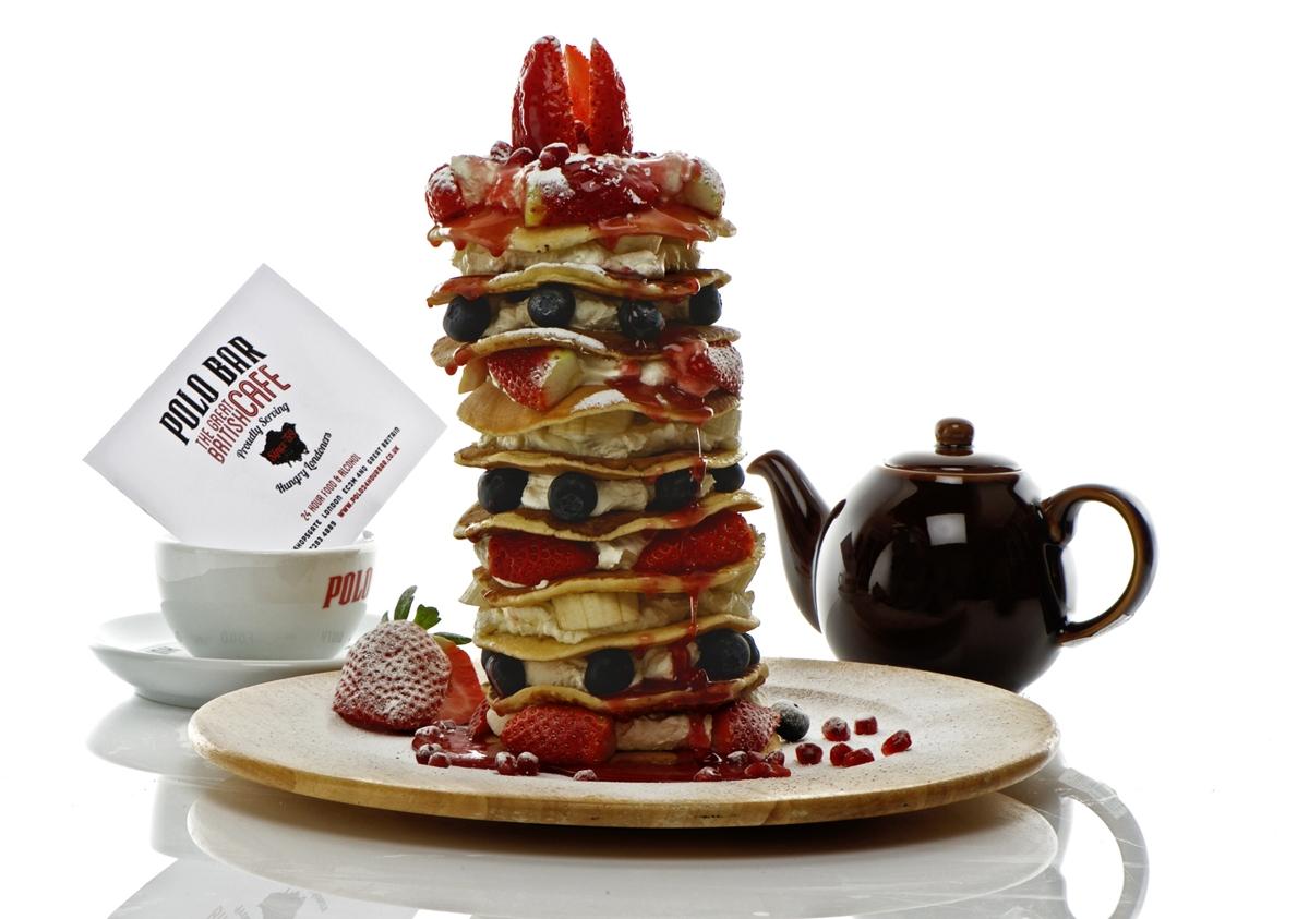 "polo bar 12"" of pancake"