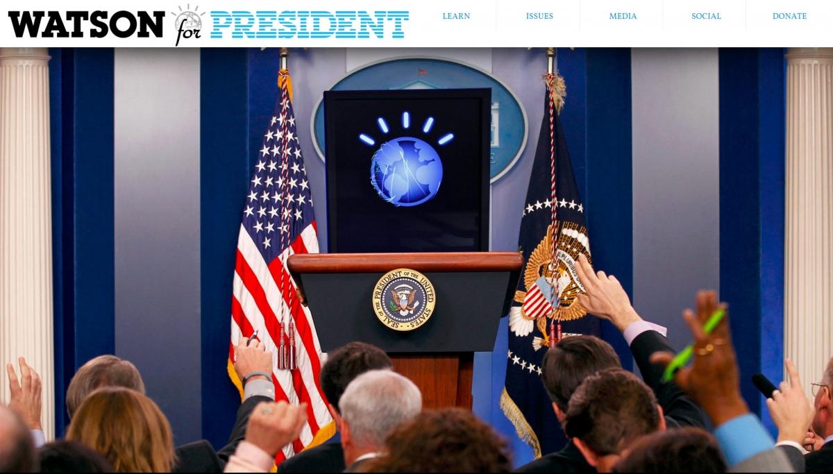 IBM Watson for President!