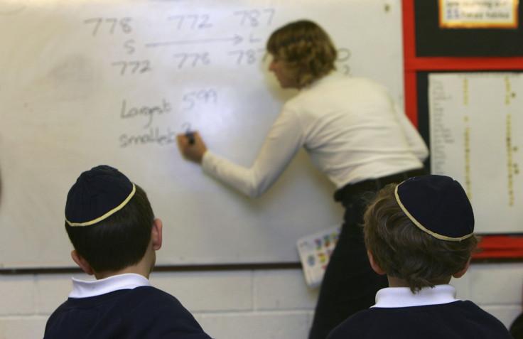 Jewish schoolchildren school
