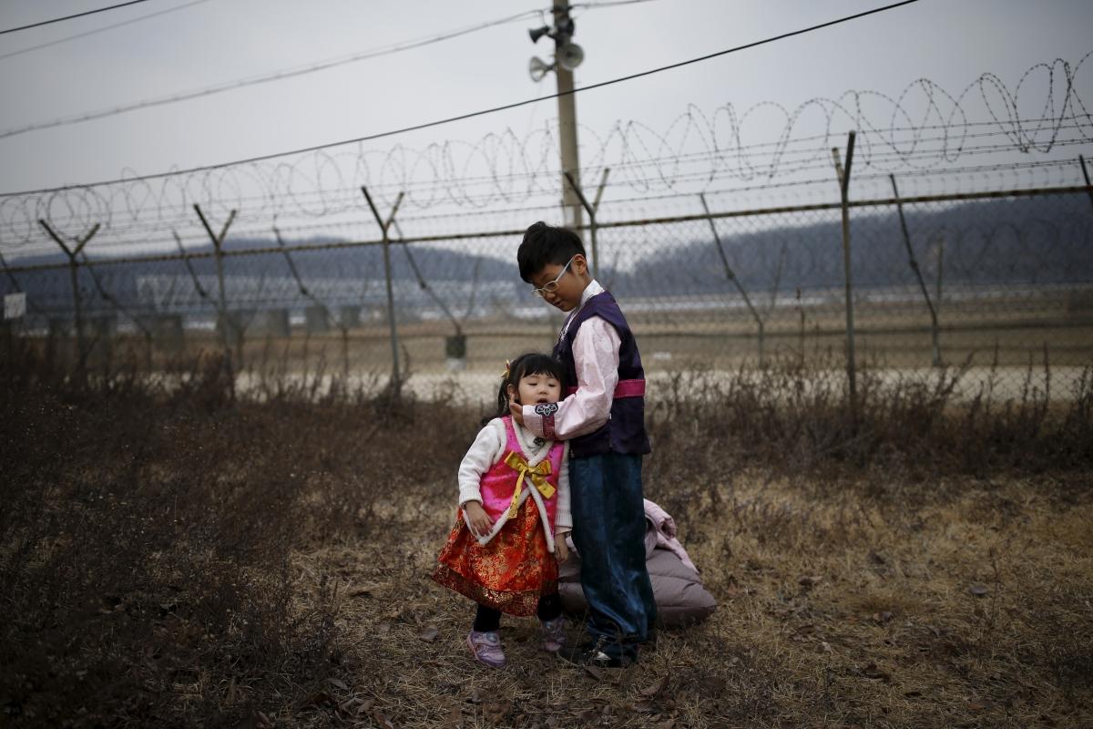 korea peninsula traditional dress 2016