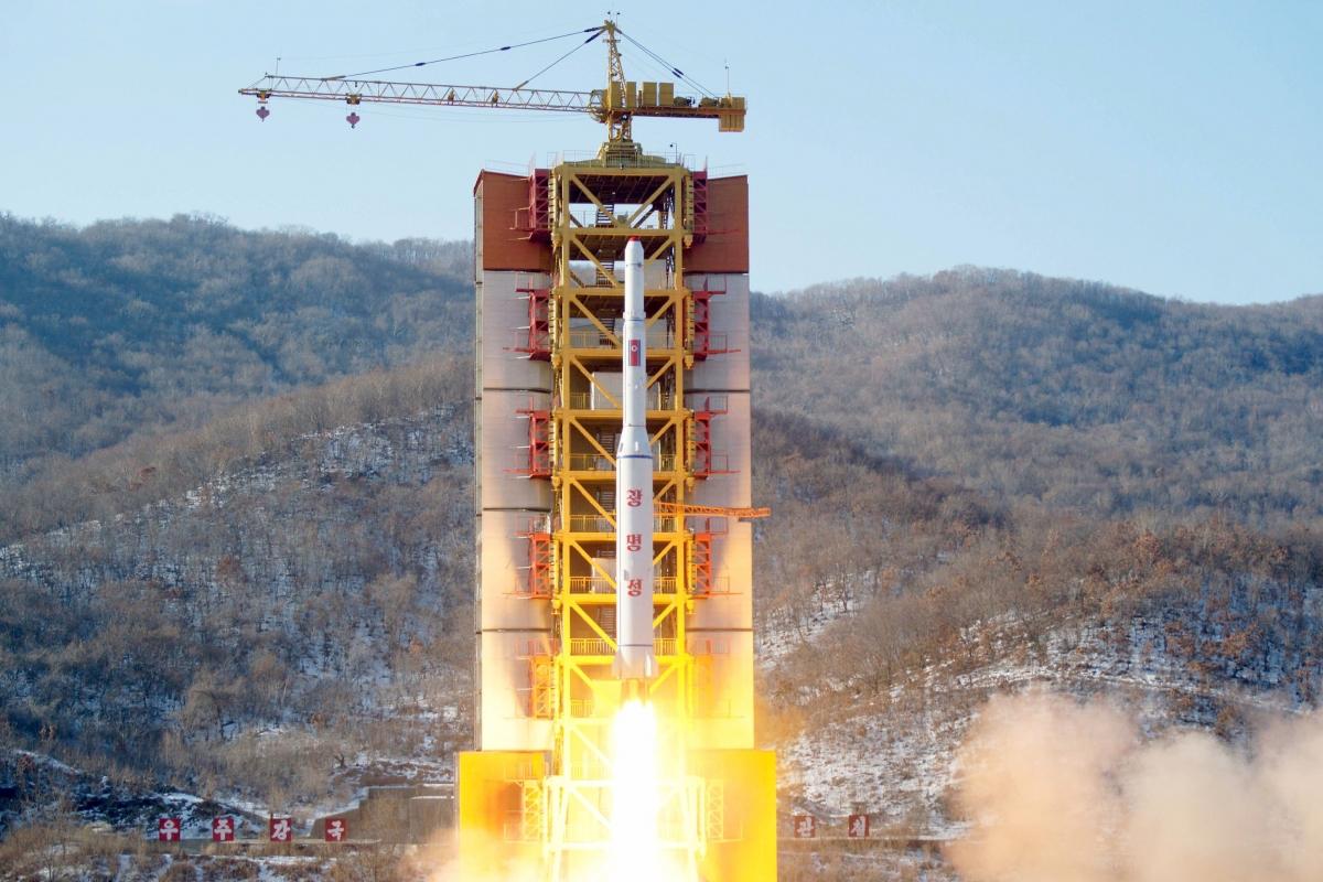 Sohae launch site, North Korea