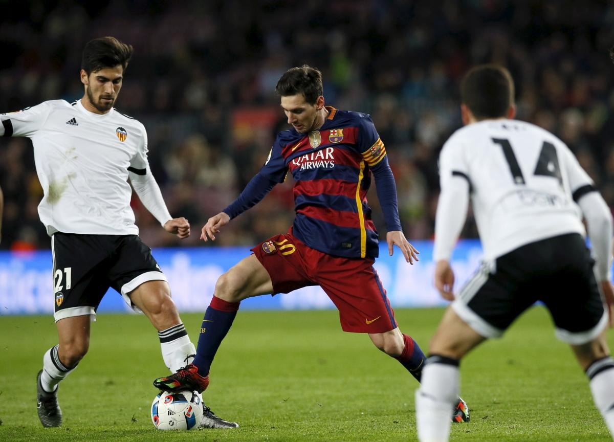 Andre Gomes & Lionel Messi