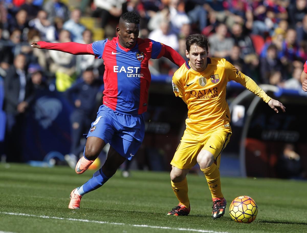 Jefferson Lerma & Lionel Messi