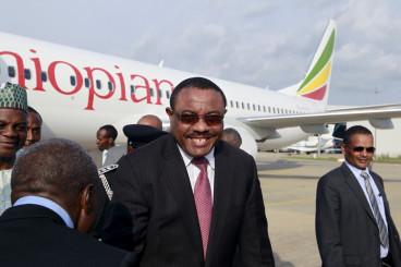 Ethiopia's Prime Minsiter Hailemariam Desalegn