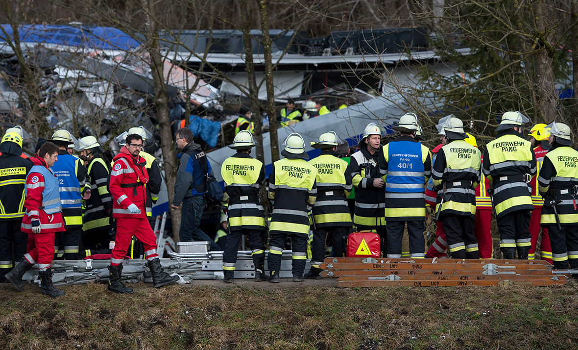 Germany train crash
