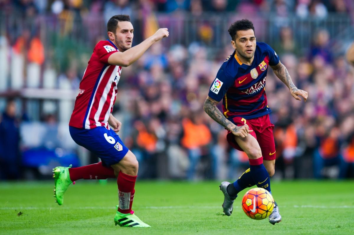 Daniel Alves in Barcelona v Atletico Madrid - La Liga - Zimbio  Dani Alves Barcelona