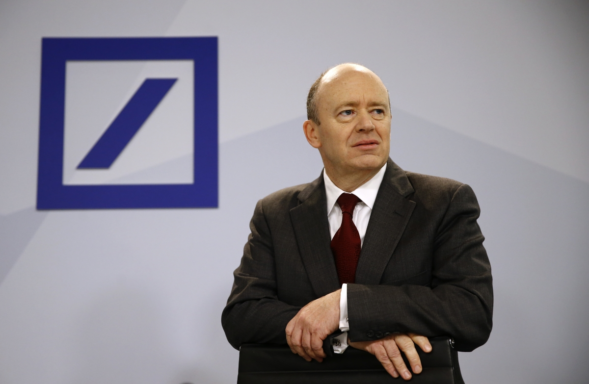 """Deutsche Bank is """"rock solid"""" chief executive John Cryan says following the plunge in its share price"""