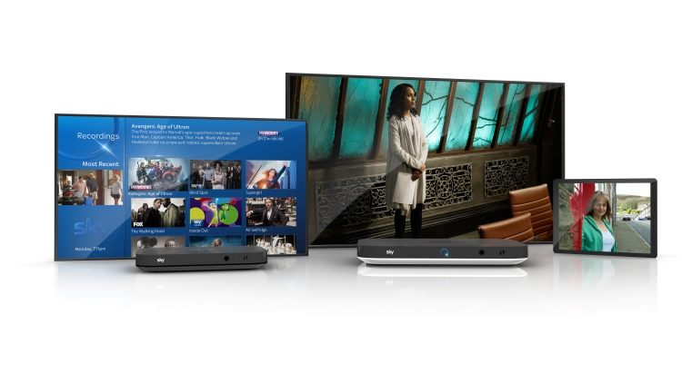 Sky Q launches its new tech-powered set top boxes