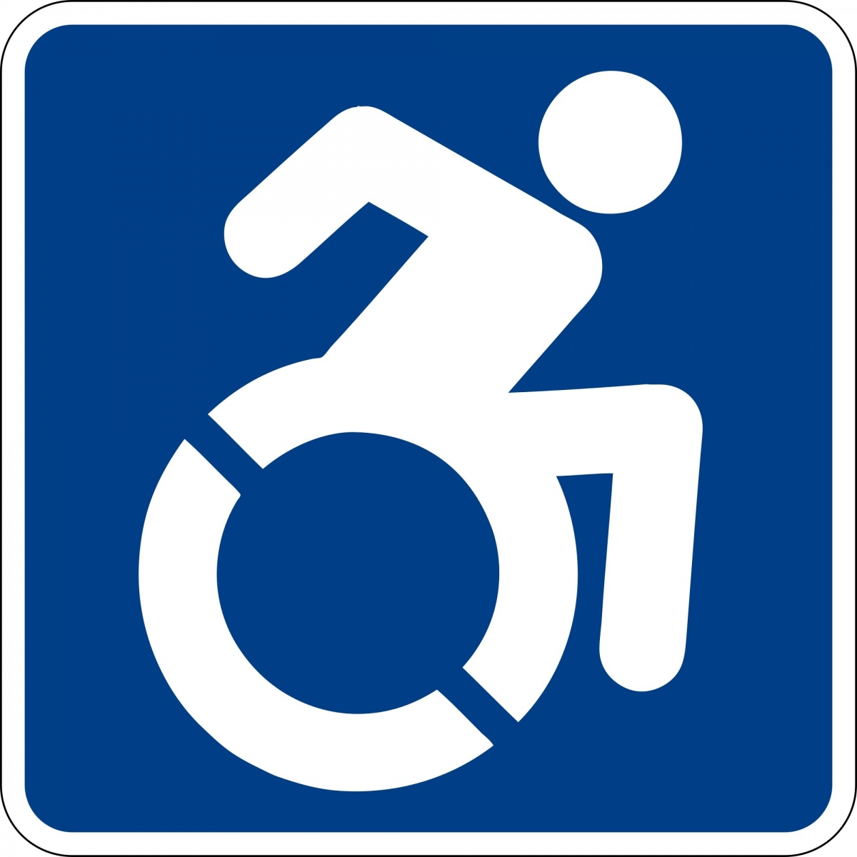 New International symbol of disabled access
