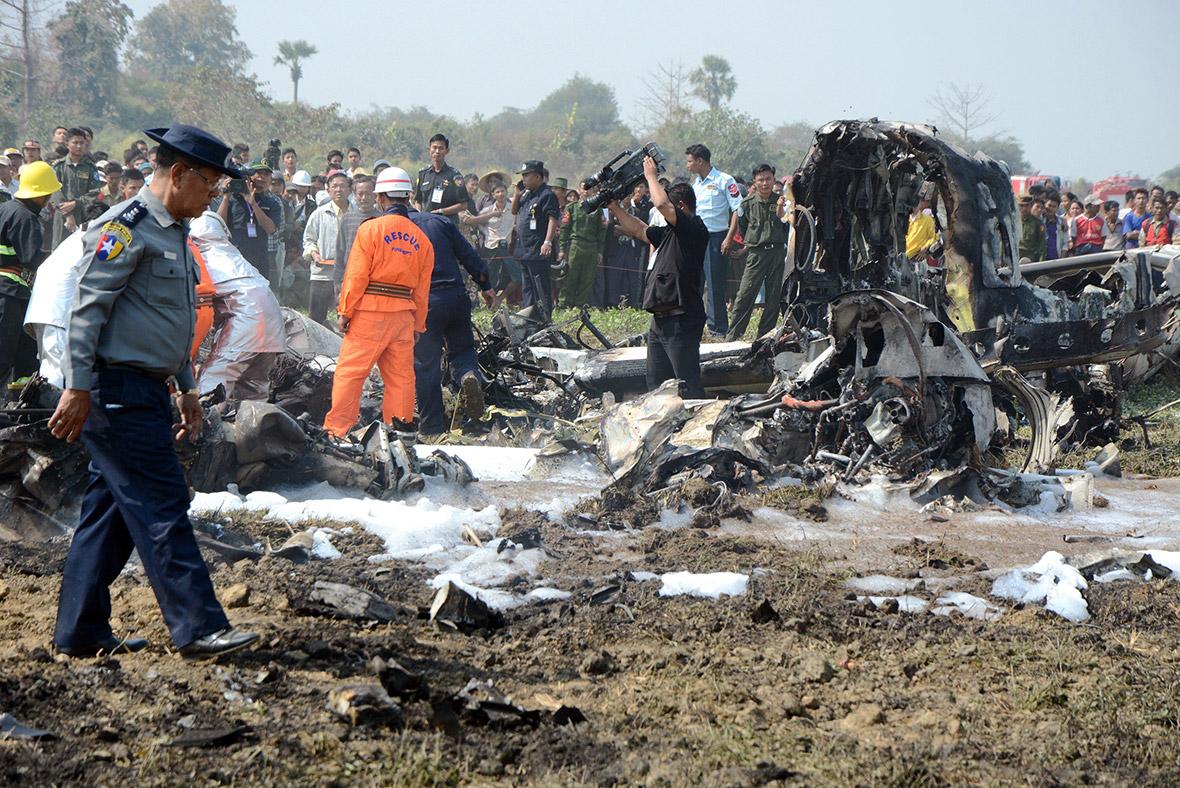 Myanmar plane crash