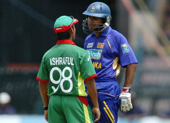 Kumar Sangakkara and Mohammad Ashraful