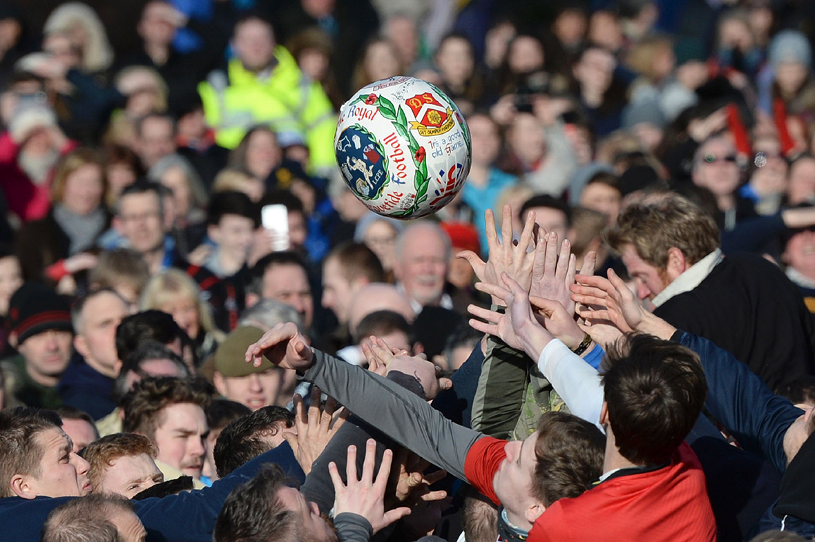 Ashbourne Shrovetide Football