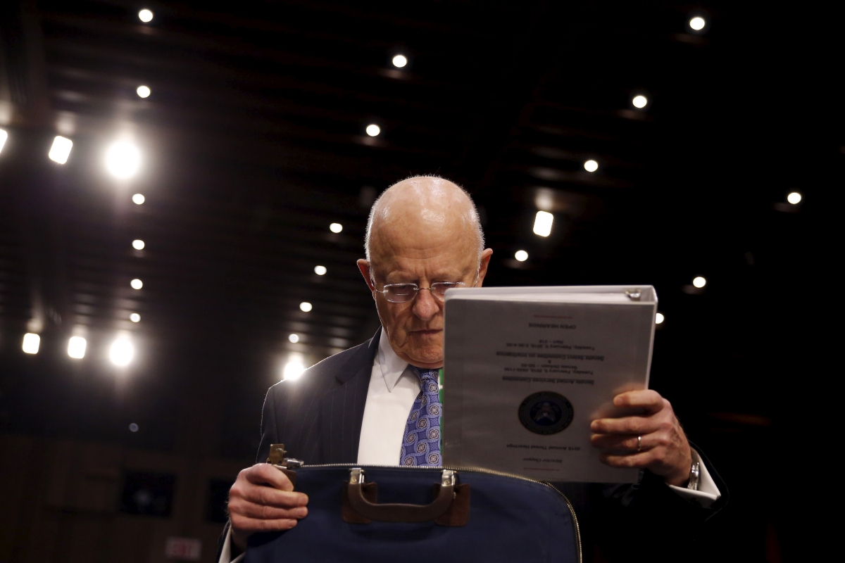 US intelligence chief says government security agencies may spy on citizens via Internet of Things
