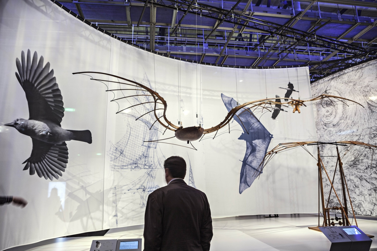 Leonardo da Vinci inventions at Science Museum