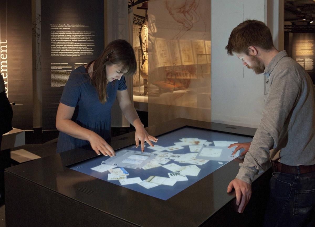 Leonardo da Vinci inventions at Science Museum