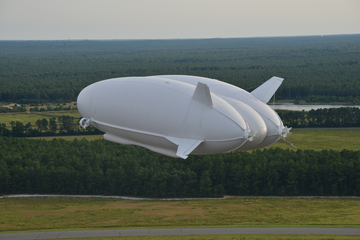 World's largest aircraft Airlander 10