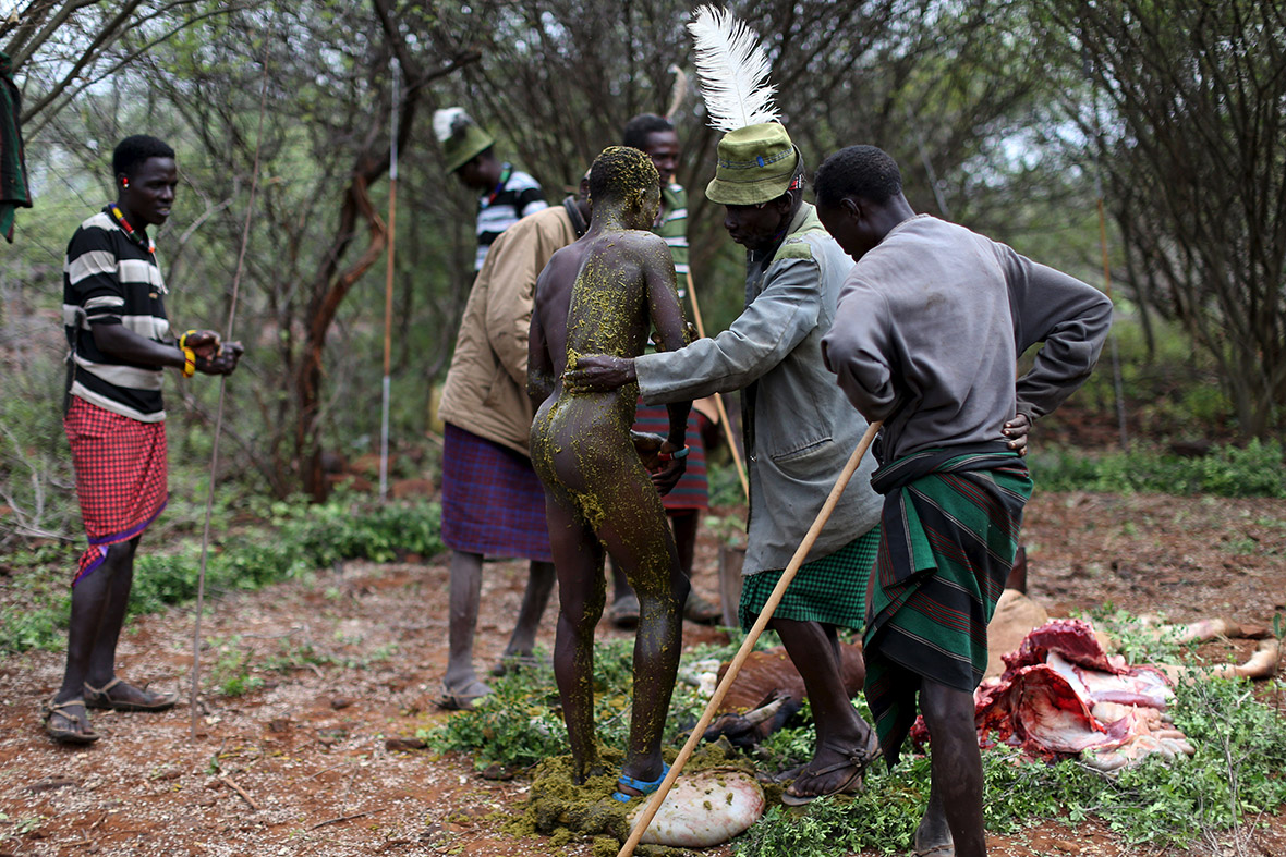 Pokot rite of passage