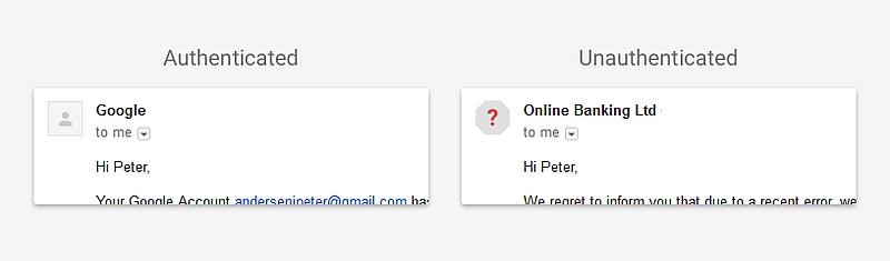Google Gmail security updates