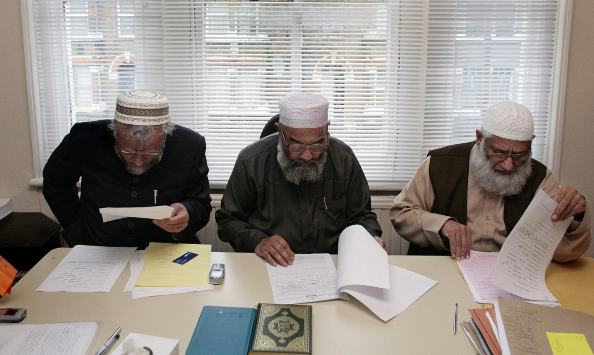 Sharia Council of Britain scholars