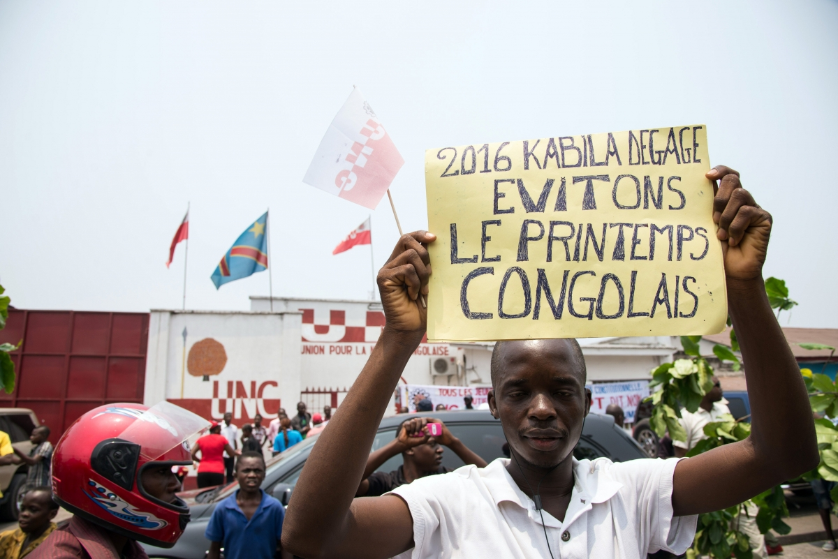 DRC protests