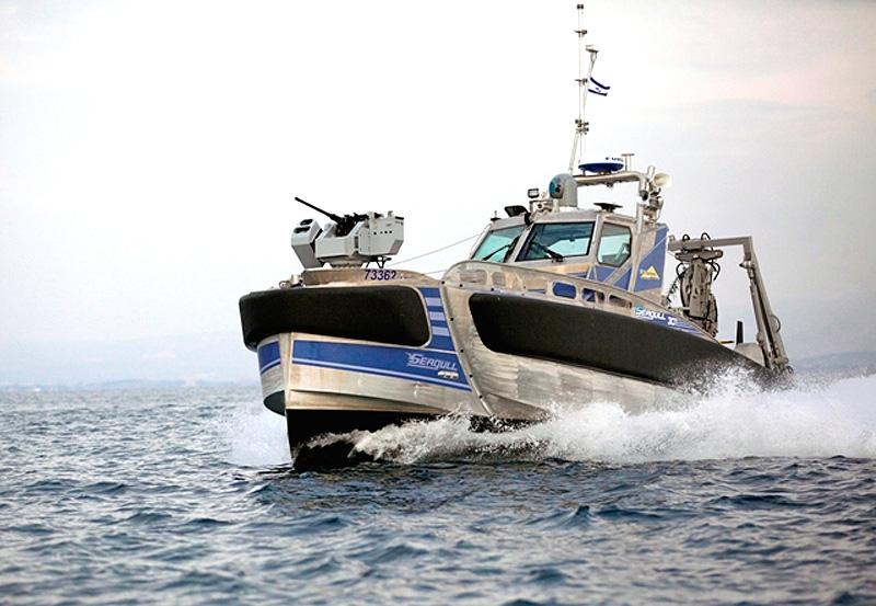 Seagull robot warship