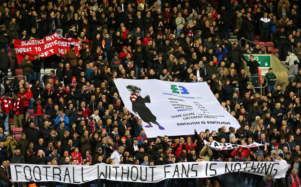 Liverpool protest