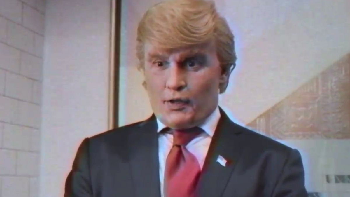 donald trump spoof