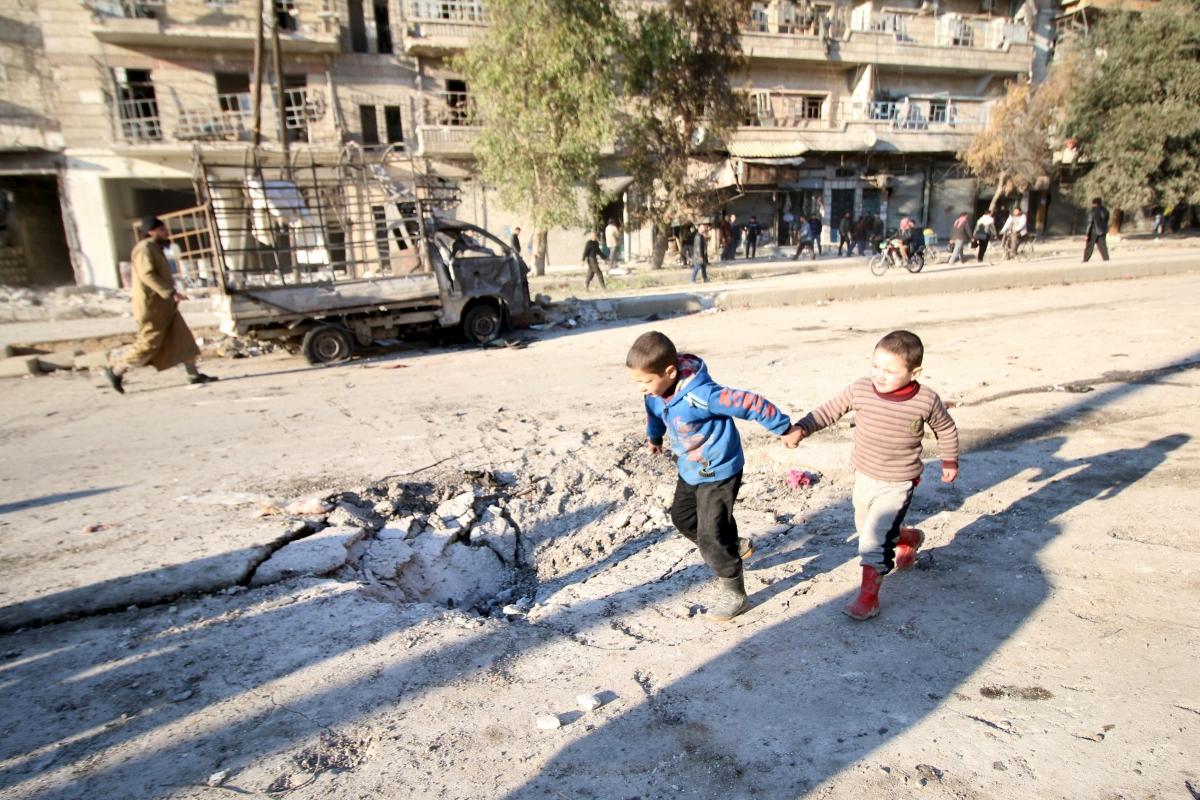 Syria Aleppo violence