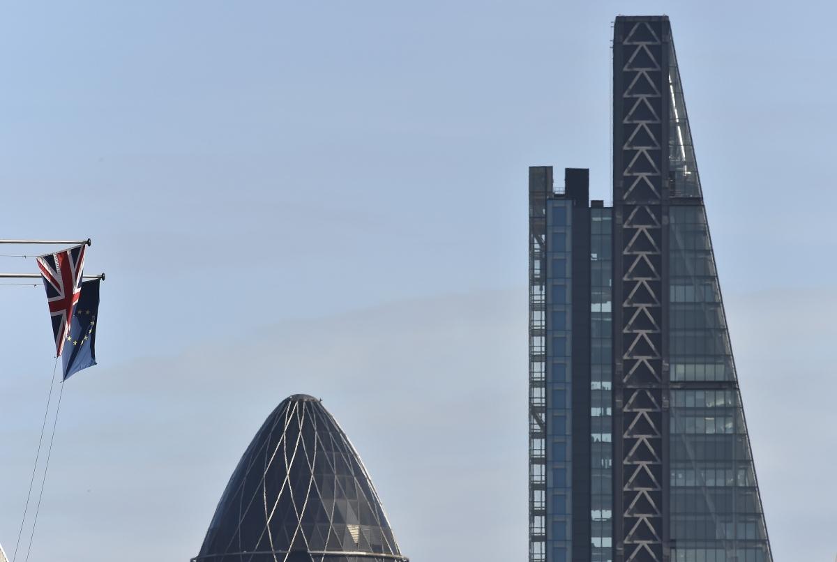City of London financial district, London