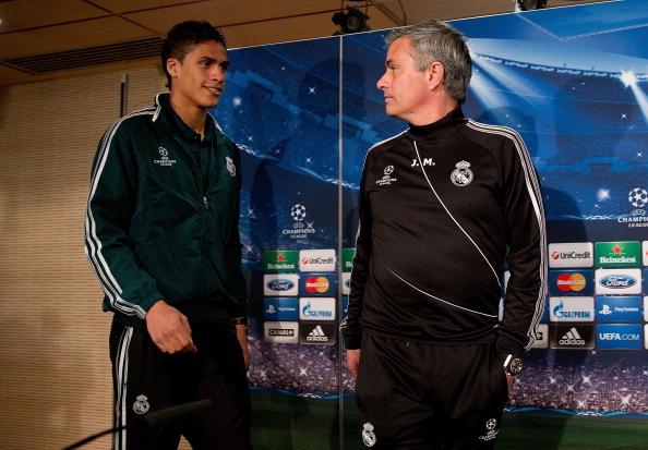 Raphael Varane-Jose Mourinho