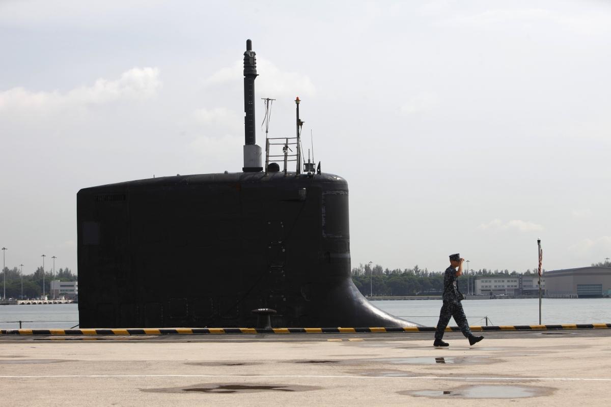 US submarine North Korea