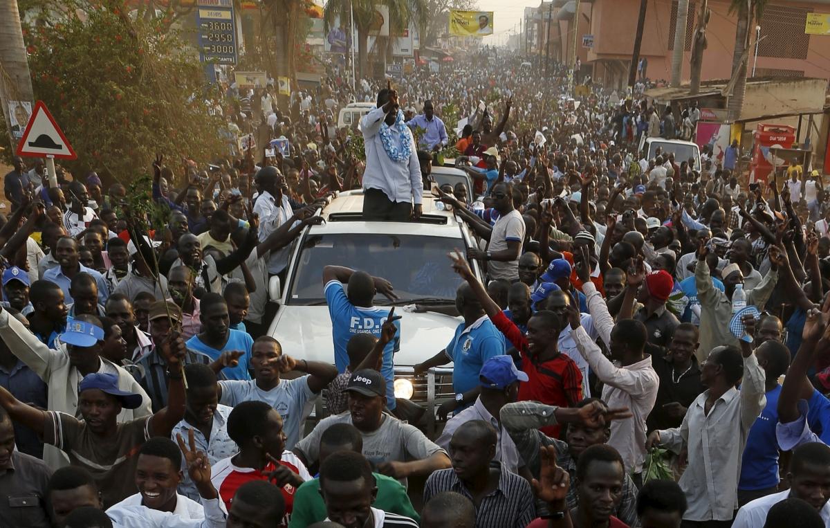 Uganda presidential election hopeful Kizza Besigye