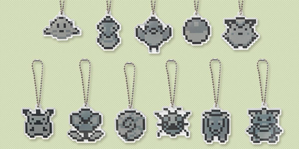 Pokémon Sprite keychain