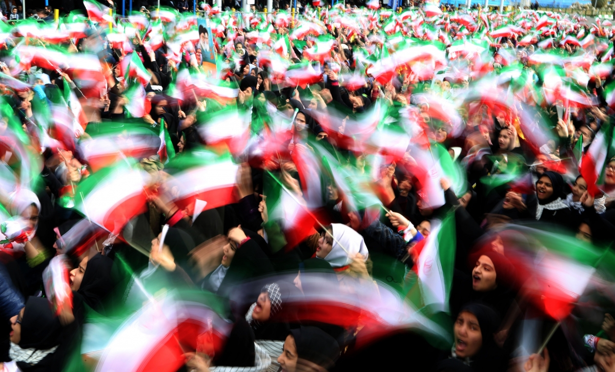 Iran revolution anniversary celebrations