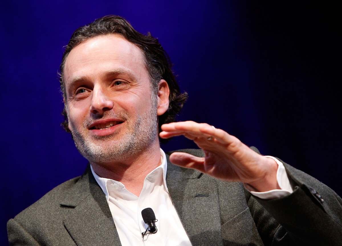 The Walking Dead S Andrew Lincoln Admits His Love Actually