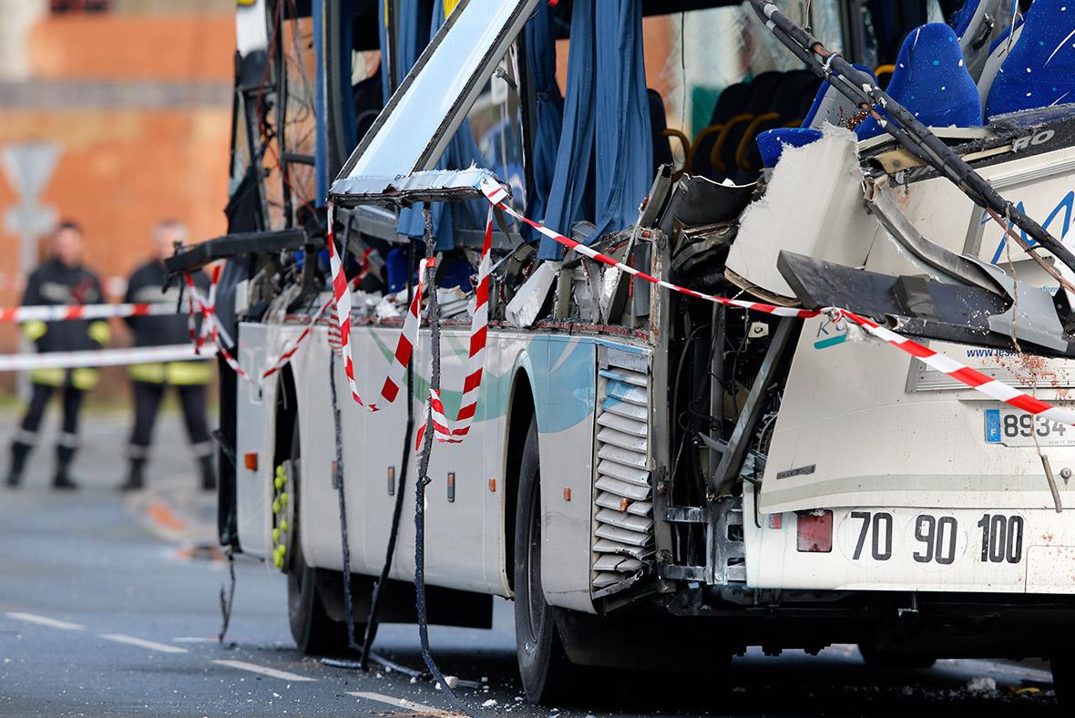 France bus crash