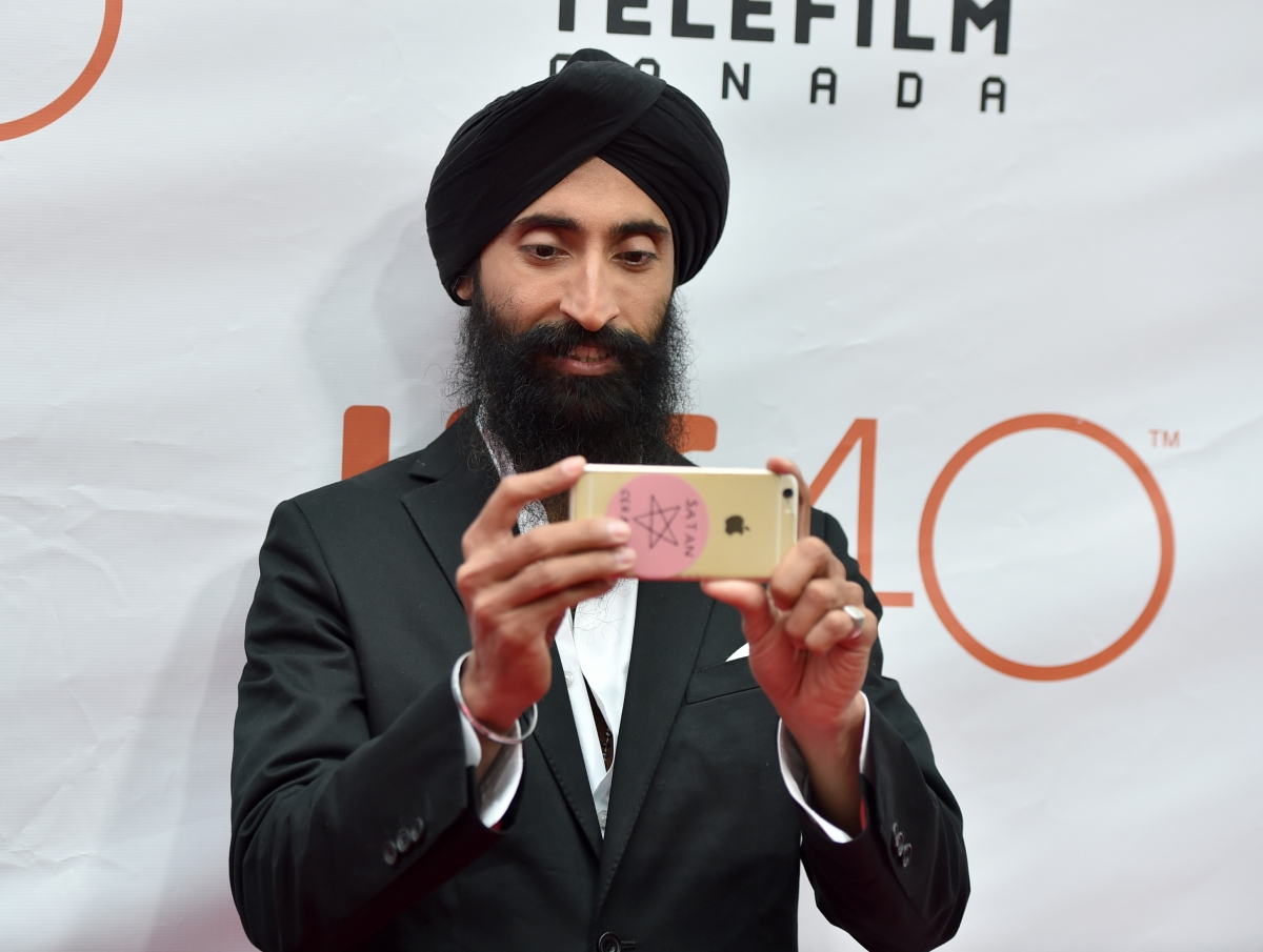 Sikh actor Waris Ahluwalia